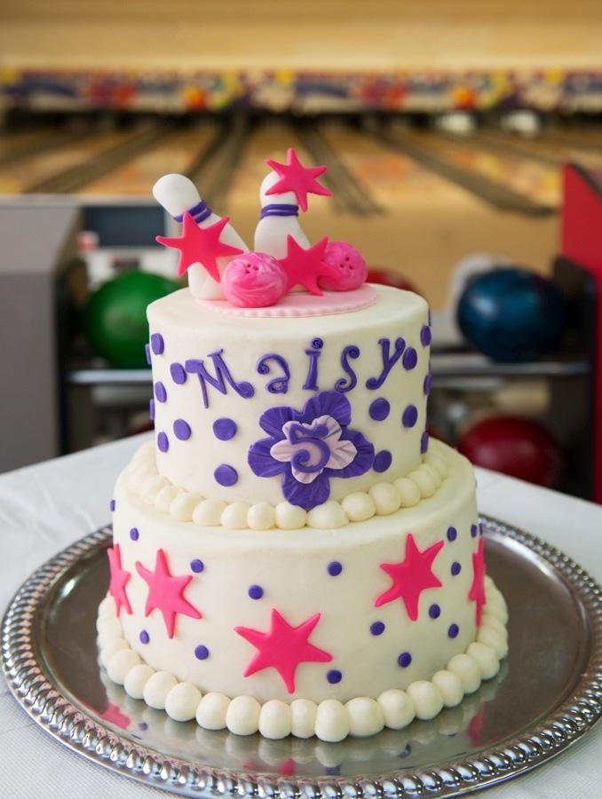 Bowling Birthday Party Cake Aspen Street Cakes