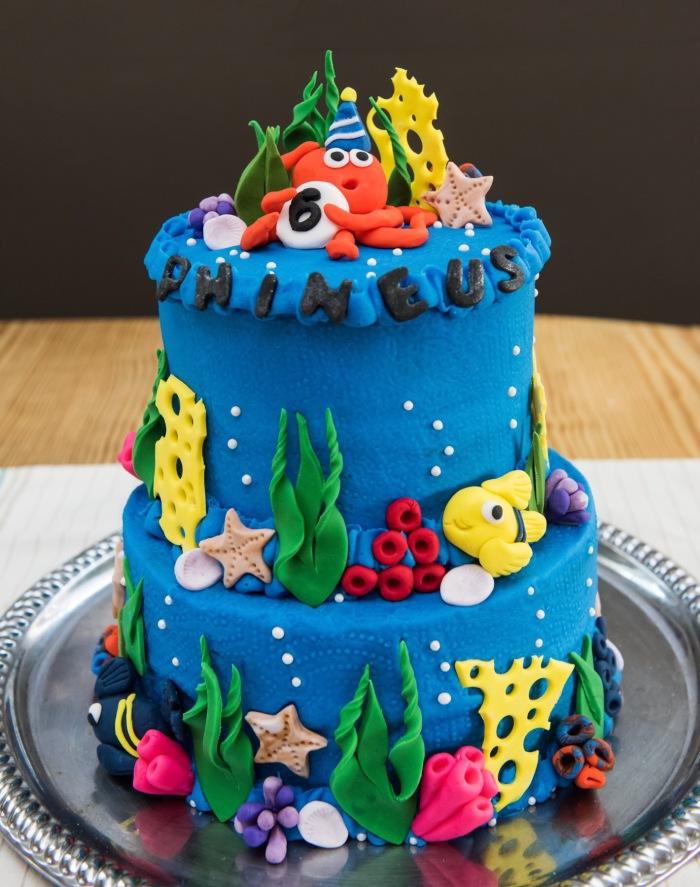 Under the Sea Cake Aspen Street Cakes