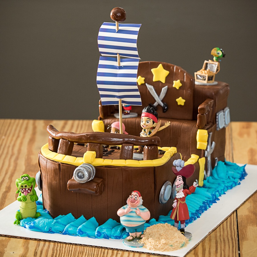Jake And The Neverland Pirates Bucky Ship Cake Aspen Street Cakes