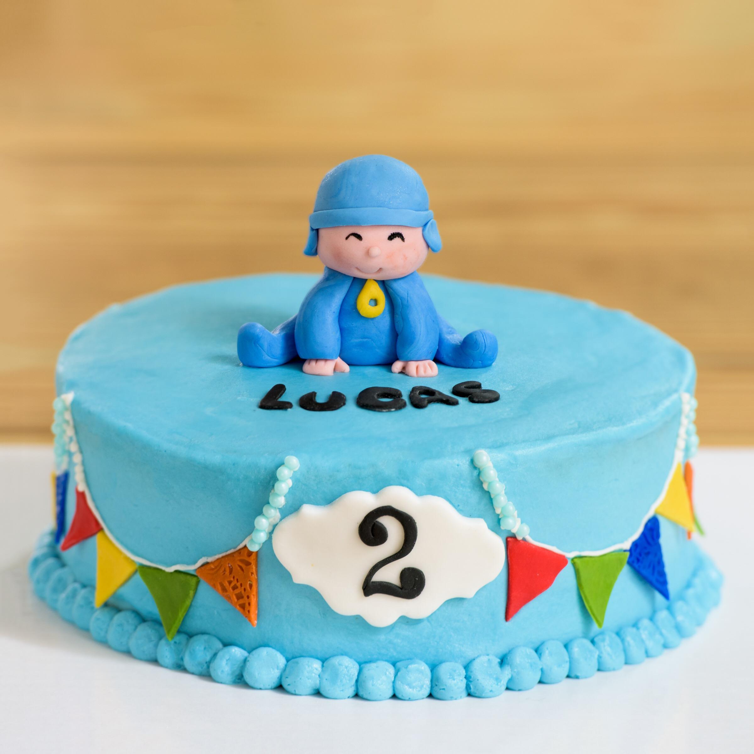Pocoyo Cake Aspen Street Cakes