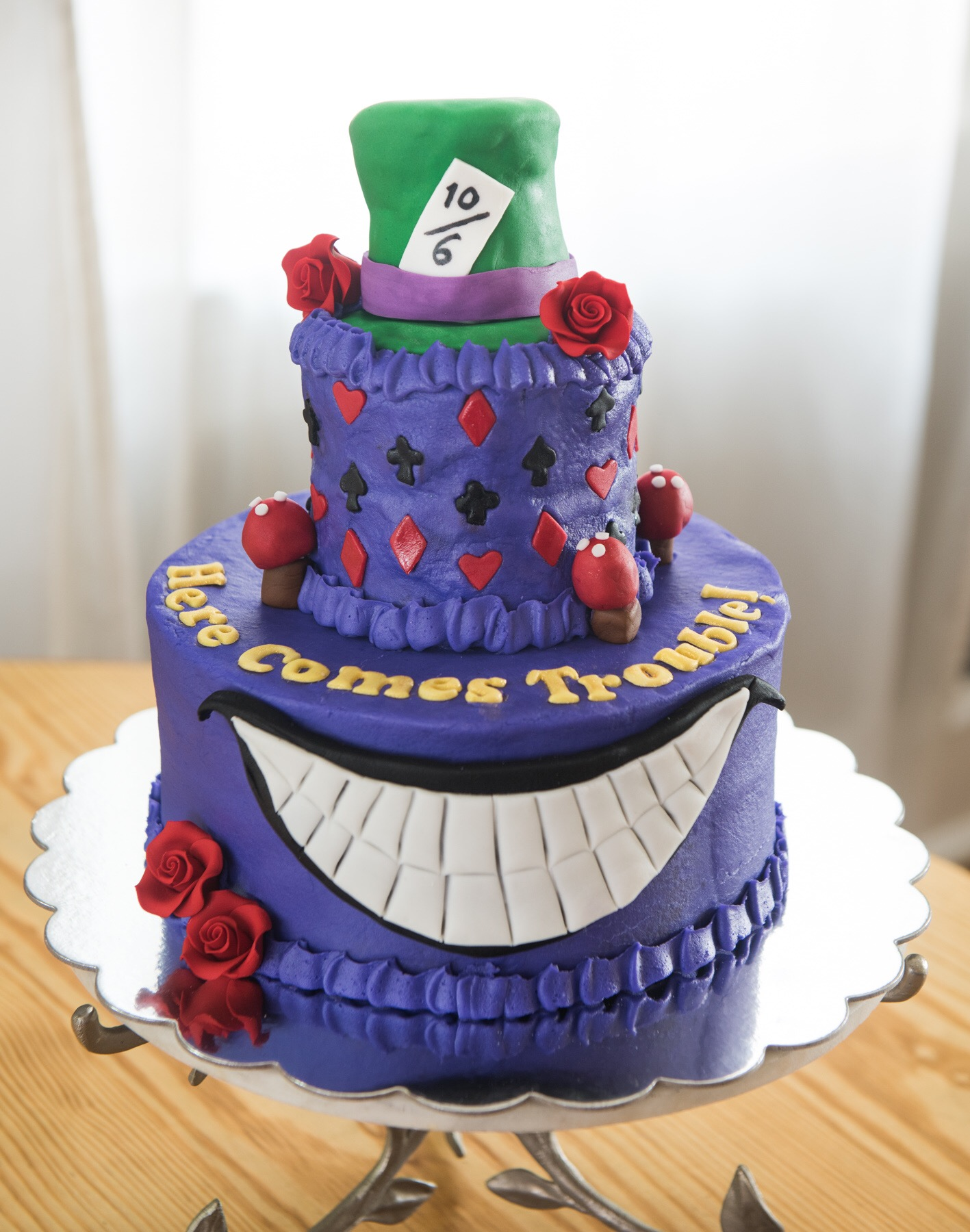 Mad Hatter Tea Baby Shower Cake – Aspen Street Cakes